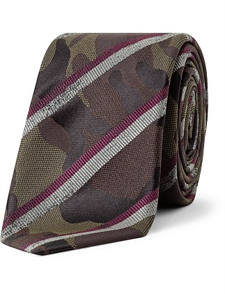 CAMOFLAGUE STRIPE TIE