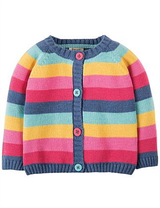 Rainbow Little Happy Day Cardigan (0-24months)