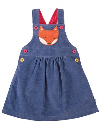 Fox Doris Dungaree Dress (0-24months)