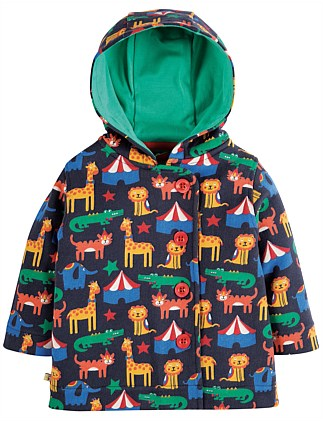 Circus Cosy Button Up Jacket (0-24months)