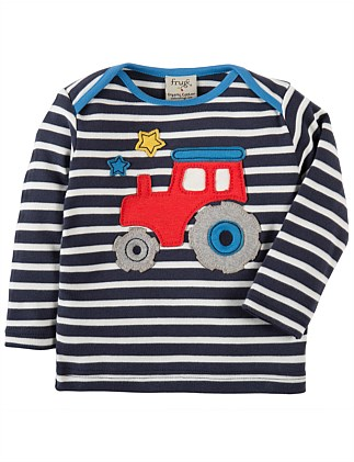 Tractor Bobby Applique Top (0-24months)