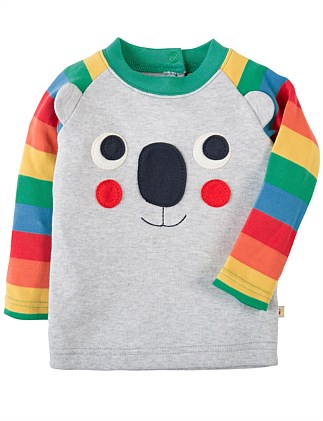 Koala Happy Raglan Top (0-24months)