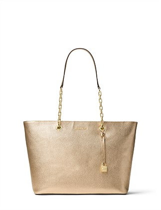 Mercer Chain-Link Metallic Tote