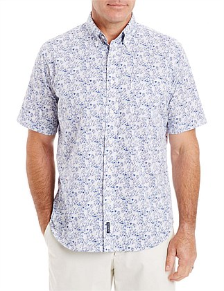 Casual Floral Print Shirt