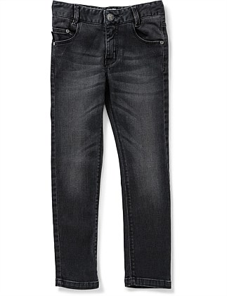 PANTALON DENIM DENIM TROUSERS (6-10 Years)
