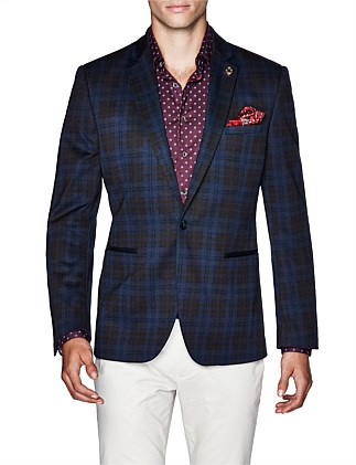 Jered Cotton Blend Blazer Jacket