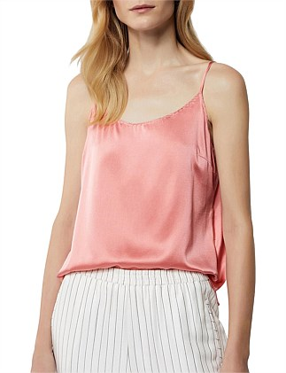 Scallop Silk Cami