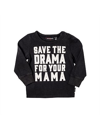 Save The Drama Tee Shirt (3month-2years)