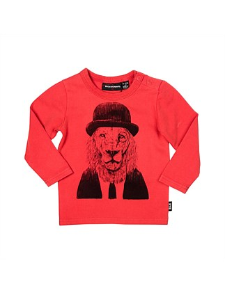 Sir Lion Long Sleeve Tshirt (3months-2years)