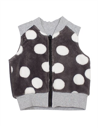 Big Dot Fleece Vest (9months-2years)