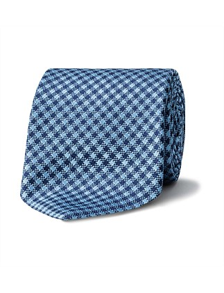 GINGHAM CHECK TIE