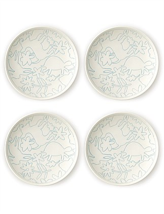 ED Polar Blue Accent Plate 16cm Set of 4