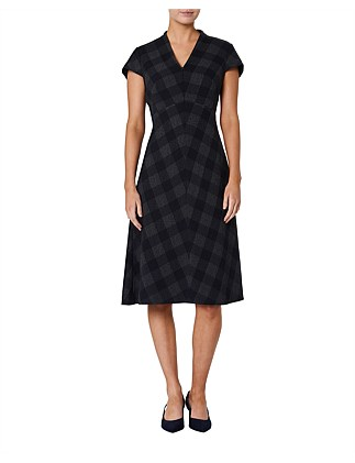 Vera Check Dress