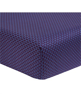 Fantasque Queen Bed Fitted Sheet 156x208cm