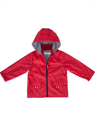 BOYS/UNISEX RAINCOAT - RED