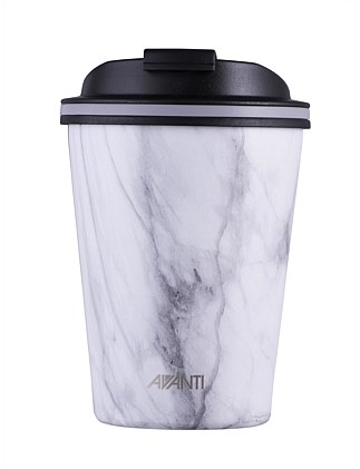 GO CUP WHITE MARBLE 280ML