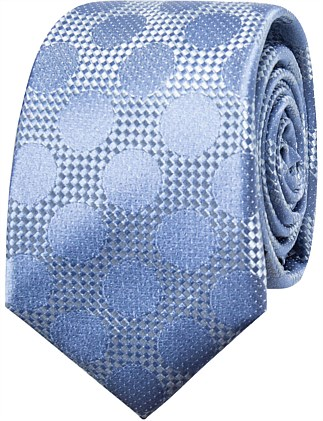 LARGE SPOT TEXTURED TIE