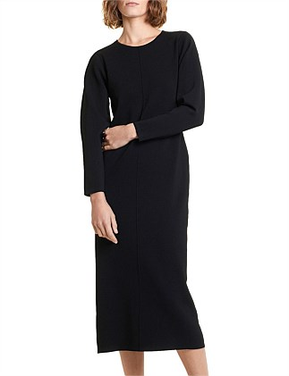 Cocoon Sleeve Dress