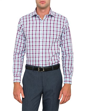 DOBBY CHECK EURO FIT SHIRT