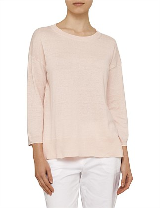 Cotton Linen Pull Over