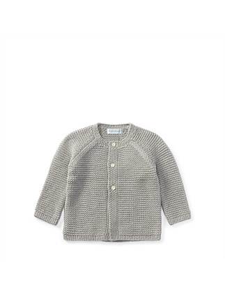 Chunky-Knit Cotton Cardigan(3-12 months)