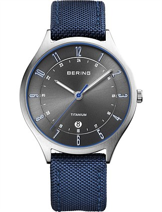 Bering Steel Grey Watch