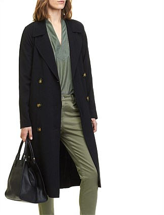 Unlined Jersey Trench