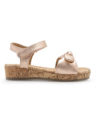 Bow Cork Sandal
