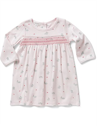 58238981d3454 Bunny Smock Dress (3-9months) ...