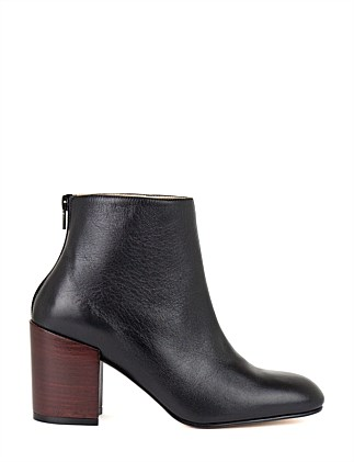 COBAIN BLOCK HEEL ANKLE BOOT