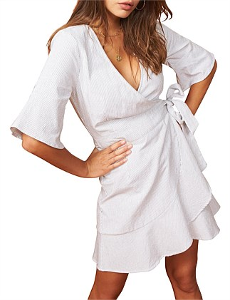 6ce1124c9668 CHELSEA WRAP DRESS Special Offer