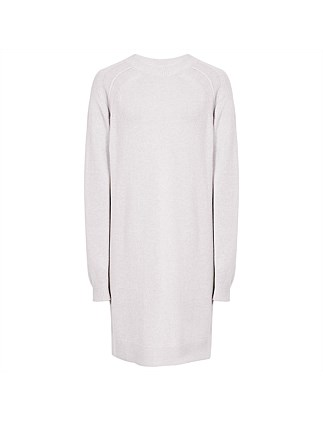 BLANCA-ROLL NECK DRESS