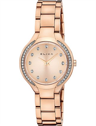Beauty Pink Plated watch