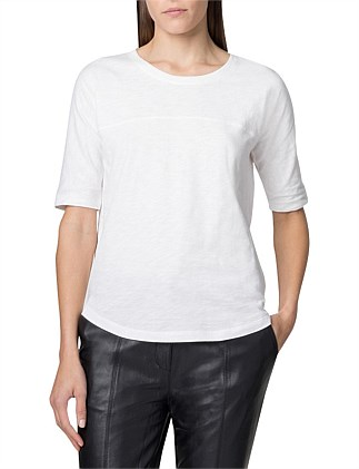 Cotton Slub Relaxed Fit T-Shirt