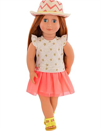 "CLEMENTINE 18"" NON POSEABLE DOLL"