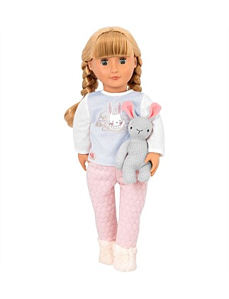 "JOVIE 18"" NON POSEABLE DOLL"
