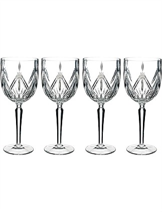 Marquis by Waterford Lacey Wine Set of 4