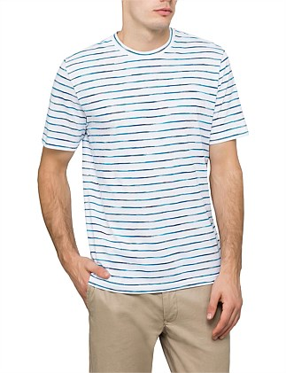 Spacedye Stripe S/S Tee