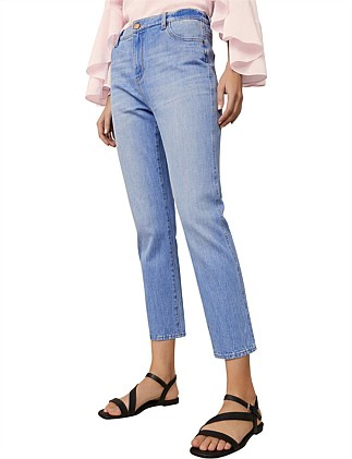 Slim Straight Crop Jean