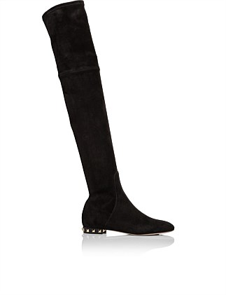 OVER THE KNEE FLAT BOOT