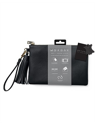 Moyork WATT Leather Clutch 4000mAh Power Bank - Raven