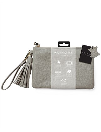 Moyork WATT Leather Clutch 4000mAh Power Bank - Marle
