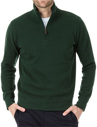 CURTIS 1/2 ZIP FRENCH RIB SWEAT