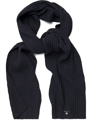 COTTON/WOOL SCARF