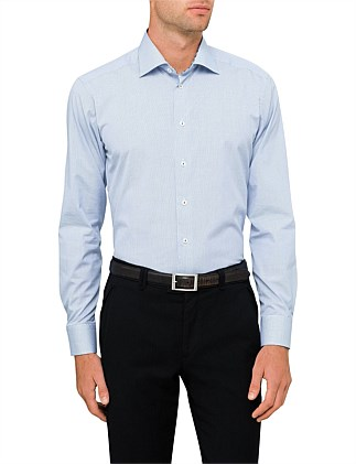MICRO CHECK SLIM FIT SHIRT