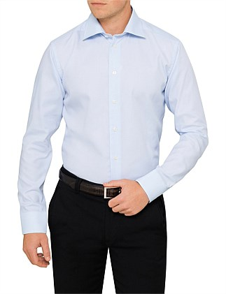 HORIZONTAL STRIPE SLIM FIT SHIRT