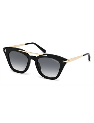 TOM FORD SUNGLASS  575 ANNA 01B 49 20