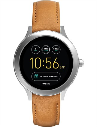 Q Venture Silver Display Smartwatch