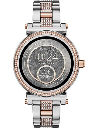 Sofie 2-Tone Display Watch