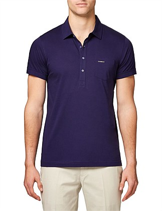 LUXE WASHED POLO